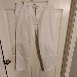 American Eagle white white pants